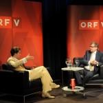 Im Gespräch mit Dr. Alexander Wrabetz, Foto: ORF