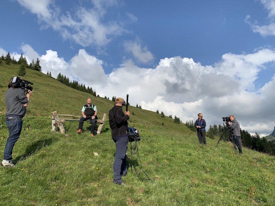 Harrys schönste Zeit - Dreharbeiten in Kitzbühel