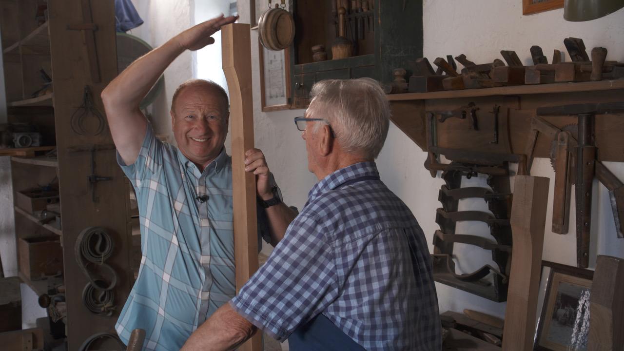Harry Prünster und Martin Schiener, Bild: ORF/Degnfilm